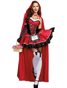 Sexy Little Red Riding Hood Dress Costume Kit