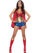 Wonder Woman Hero Adult Costume