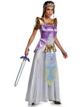 Legend Of Zelda Princess Zelda Deluxe Adult Costume