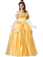 Yellow Fairytale Princess Elite Costume