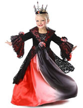 Ombre Vampire Child Costume