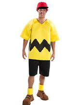 4-pc. Peanuts: Deluxe Charlie Brown Adult Costume
