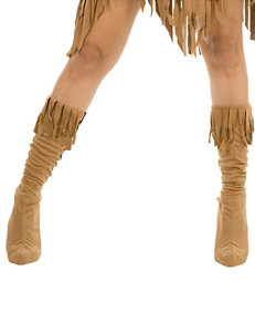 Indian Maiden Faux Suede Adult Boot Covers