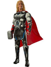 3-pc. Avengers 2 Age Of Ultron: Deluxe Adult Thor Costume