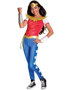 DC SUPERHERO GIRLS: WONDER WOMAN DELUXE CHILD COSTUME S