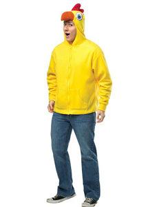 Yellow Chicken Costume Hoodie