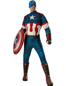 2-pc. Avengers 2 Age Of Ultron: Deluxe Captain America Costume