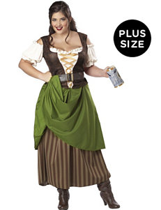 2-pc. Tavern Maiden Plus-size Adult Costume