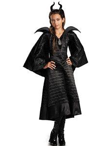 Maleficent Christening Deluxe Black Dress Child Costume