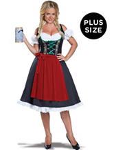 2-pc. Oktoberfest Fraulein  Plus-size Costume