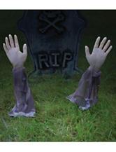 2-pc. Zombie Arm Lawn Stakes Decor Set