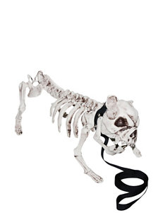 Skeleton Dog Prop Decoration