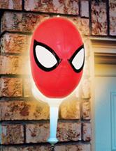 Spider-Man Porch Light Cover