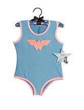 Wonder Woman Leotard & Puff Hanger Child Costume