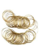 Set of 50 Golden Bangles