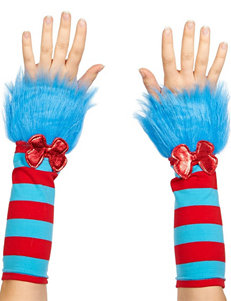 Cat In The Hat Thing 1 & Thing 2 Fuzzy Glovettes