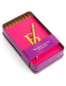 Tri Coastal Pink Monogram School & Office Supplies