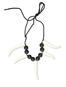 Saber Tooth Necklace – One Size