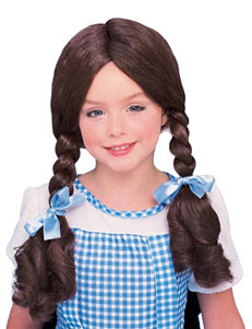 The Wizard of Oz Dorothy Costume Wig