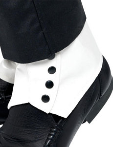 White Spats Costume Accessory