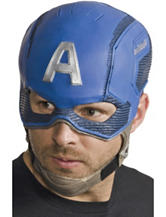 Avengers 2 Age Of Ultron: Adult Captain America Molded Mask