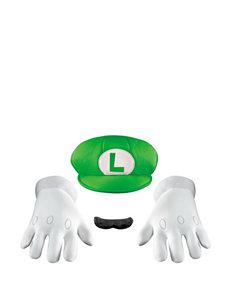 3-pc. Super Mario Brothers Luigi Adult Accessory Kit