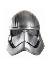 Star Wars The Force Awakens Captain Phasma Child Half Helmet Mask