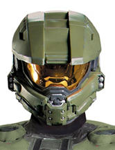 Halo 3 Master Chief 2-pc. Adult Vacuform Mask