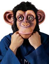 Chimp Costume Adult Mask