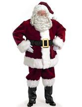 4-pc. Majestic Santa Suit Costume