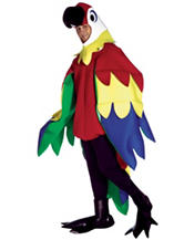 3-pc. Deluxe Parrot Adult Costume