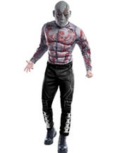 2-pc. Guardians Of The Galaxy Drax The Destroyer Adult Costume