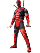 2-pc. Deadpool Deluxe Adult Big & Tall Costume