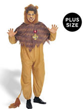 2-pc. The Wizard of Oz Cowardly Lion Big & Tall Adult Costume