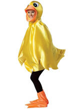 3-pc. Yellow Ducky Adult Costume
