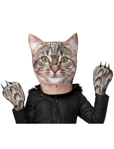 2-pc. Cat Head & Paws Costume For Adults