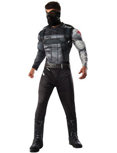 4-pc. Marvel Captain America: Civil War Winter Soldier Black Panther Deluxe Adult Costume