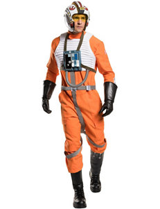 6-pc. Star Wars Grand Heritage X-Wing Fighter Adult Costume