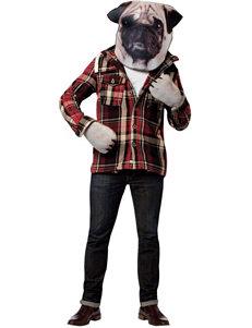 Pug Dog Adult Costume Kit