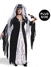 Coffin Bride Adult Plus-size Costume