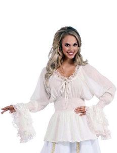 Medieval Adult Plus-size Costume Blouse
