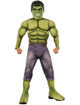 2-pc. Avengers 2 Age Of Ultron: Deluxe Hulk Child Costume Set