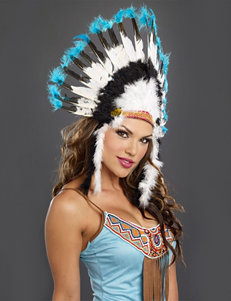 Native American Tribal Headdress Costume Accessory