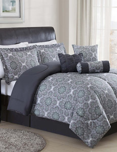 Chic Home Design Grey / Green Comforters & Comforter Sets