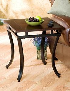 Southern Enterprises Modesto Espresso End Table