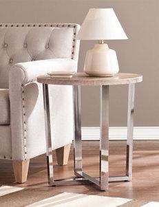 Southern Enterprises Grey Accent & End Tables Living Room Furniture