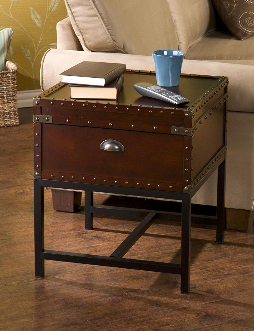 Southern Enterprises Espresso Accent & End Tables Living Room Furniture
