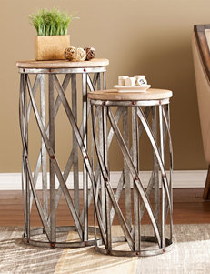 Southern Enterprises Brown Accent & End Tables Living Room Furniture