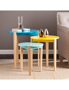 Southern Enterprises Blue Accent & End Tables Living Room Furniture