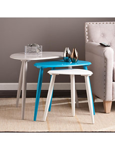 Southern Enterprises Grey Accent & End Tables Living Room Furniture